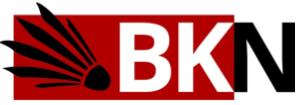 Logo Badminton Klub Noordwijkerhout (BKN)