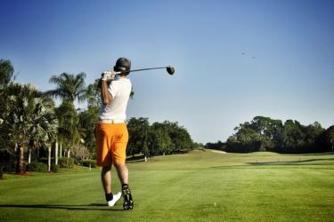 Golfen op Tespelduyn